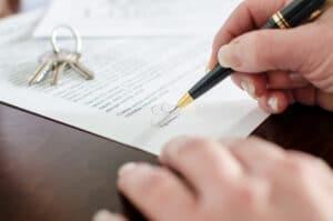Mietvertrag für eine Wohnung